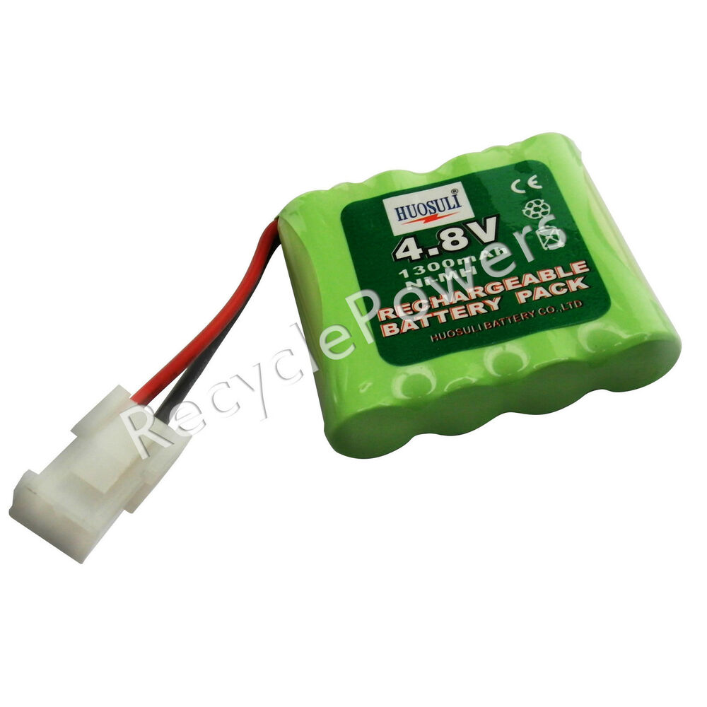 1 pc 4 8v 1300mah ni mh rechargeable battery cell pack ebay. Black Bedroom Furniture Sets. Home Design Ideas