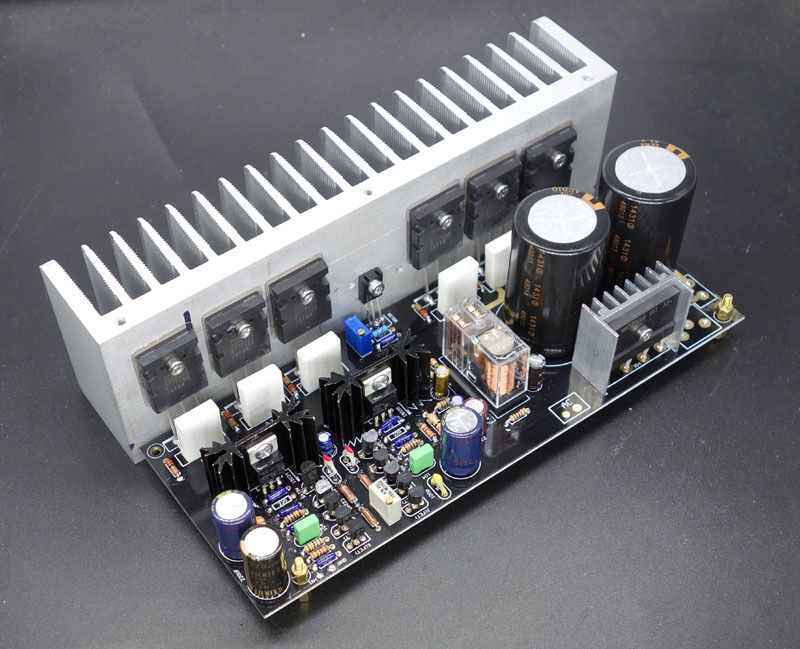 2 x high end quality dual differential fet input audio power amplifier kit ebay. Black Bedroom Furniture Sets. Home Design Ideas