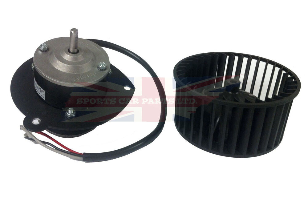 High Volume Fan : New high volume uprated heater fan blower motor for mgb