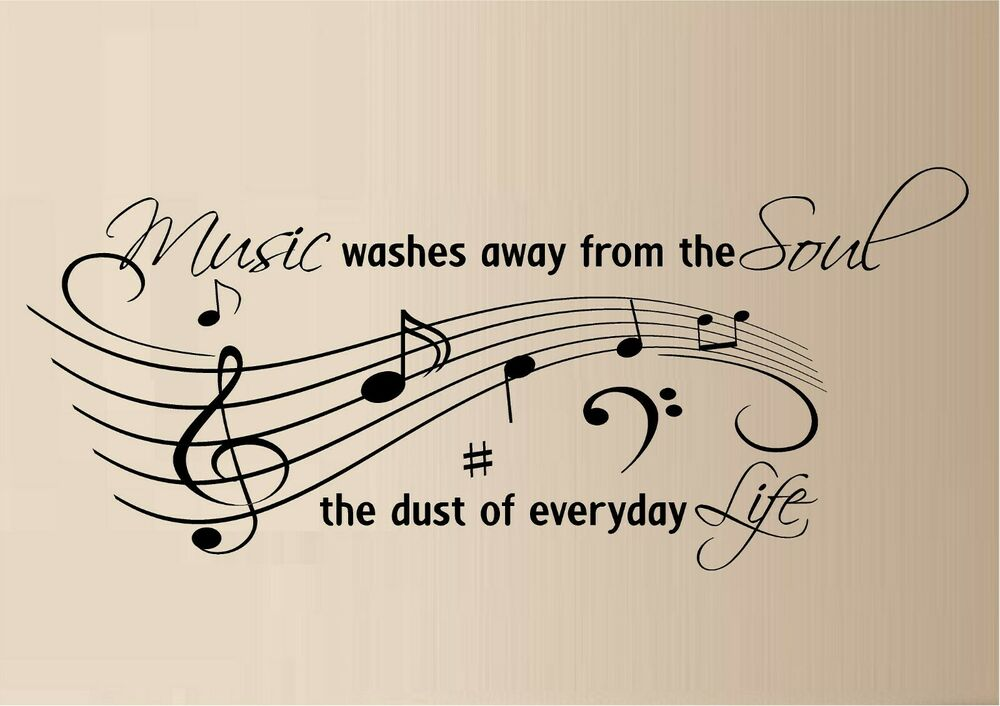 music life quote vinyl wall decal wall decor inspirational