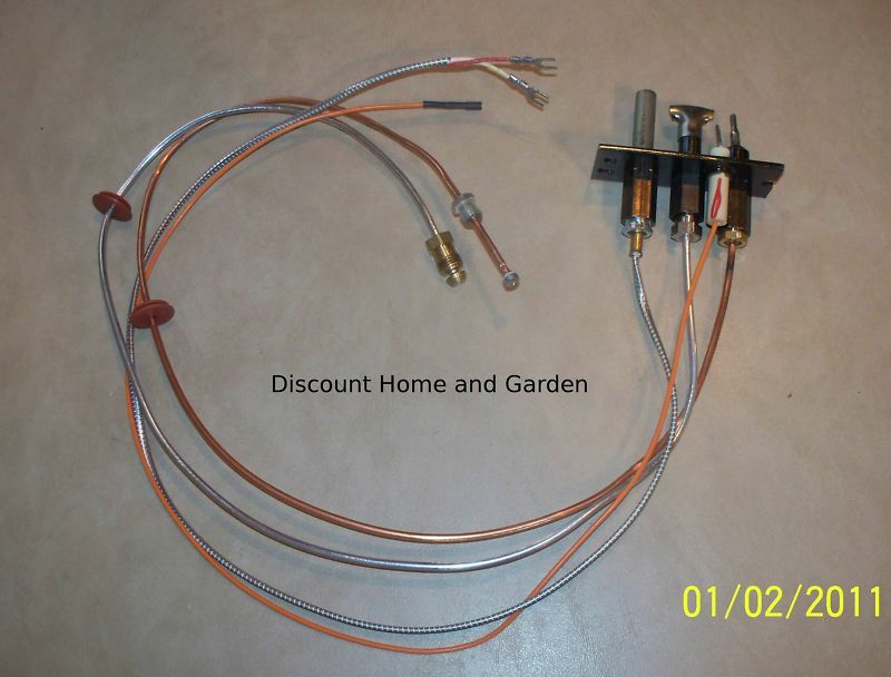 Heat N Glo Heatilator Direct Vent Fireplace Propane Gas Pilot Assembly 2103 011 Ebay