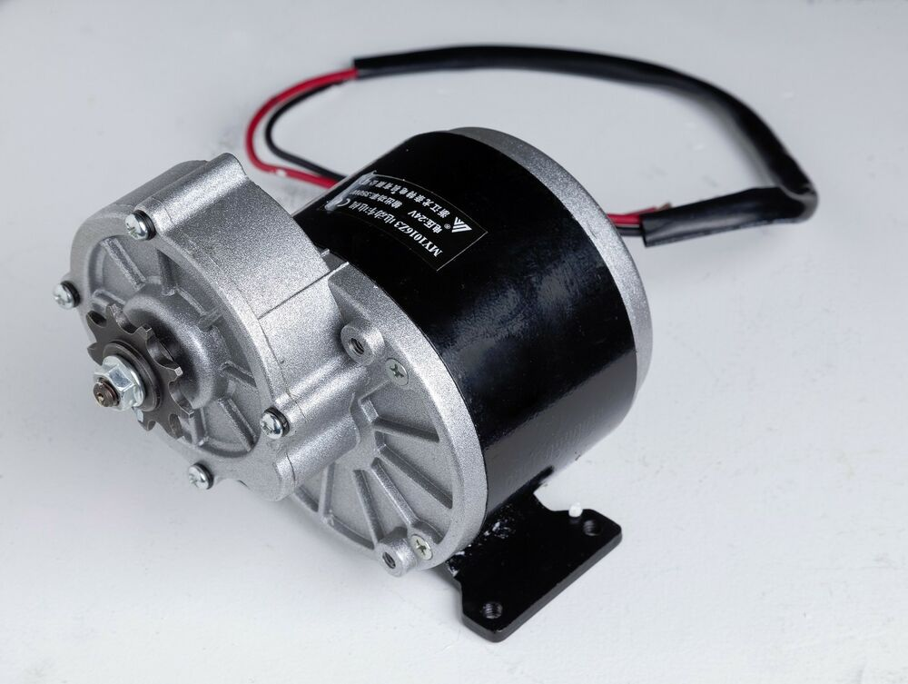350 w 24v electric motor f bicycle ebike scooter gear for Reduction gearbox for electric motor