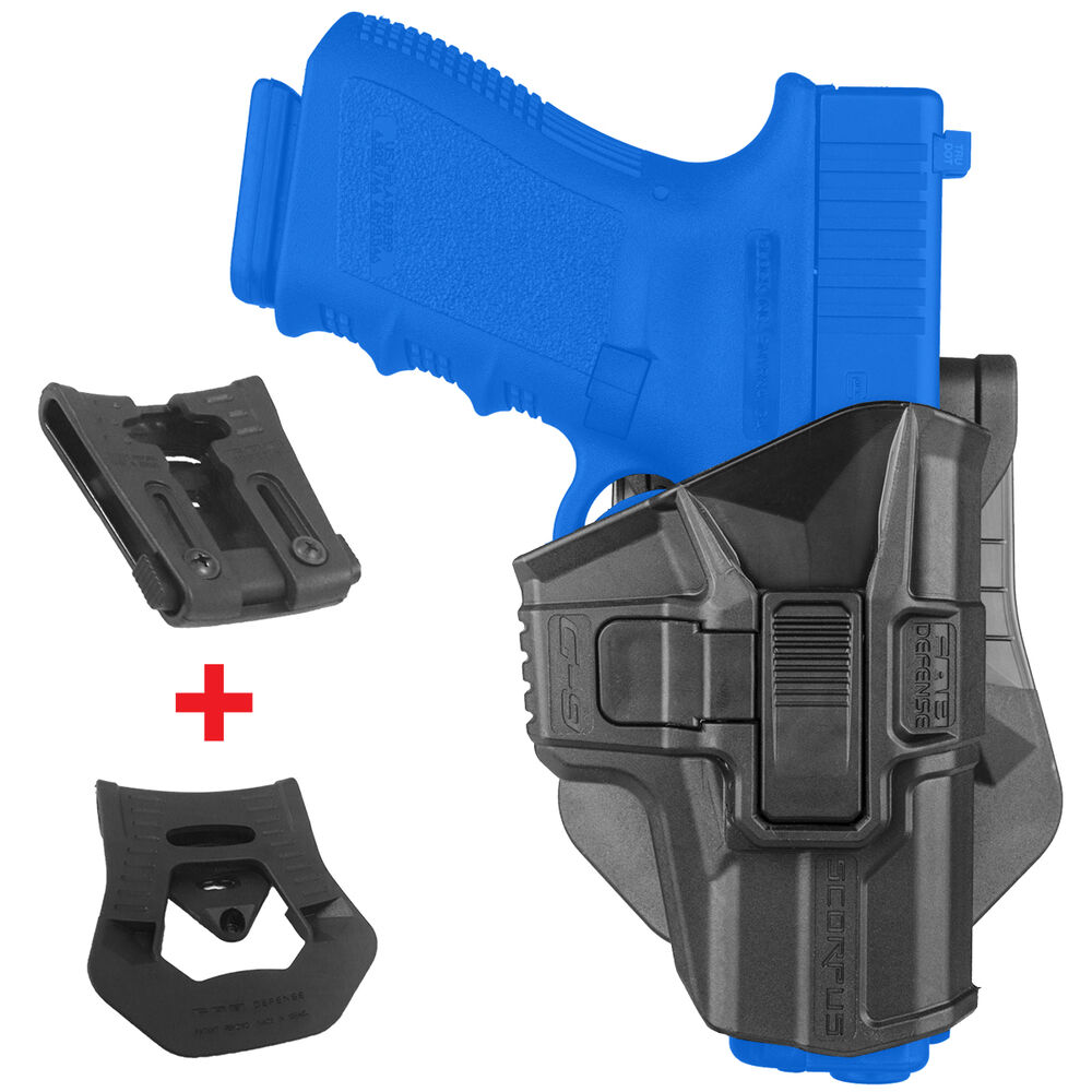 FAB SCORPUS Level 2 Retention Holster GLOCK 9mm 17 19 22 ...