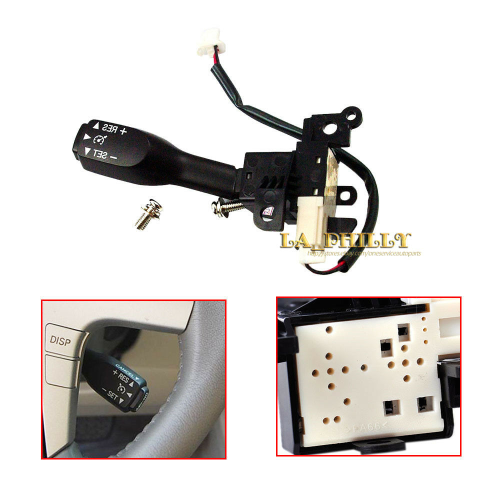 turn signal cruise control switch w screw for toyota camry corolla 84632 34011 ebay. Black Bedroom Furniture Sets. Home Design Ideas