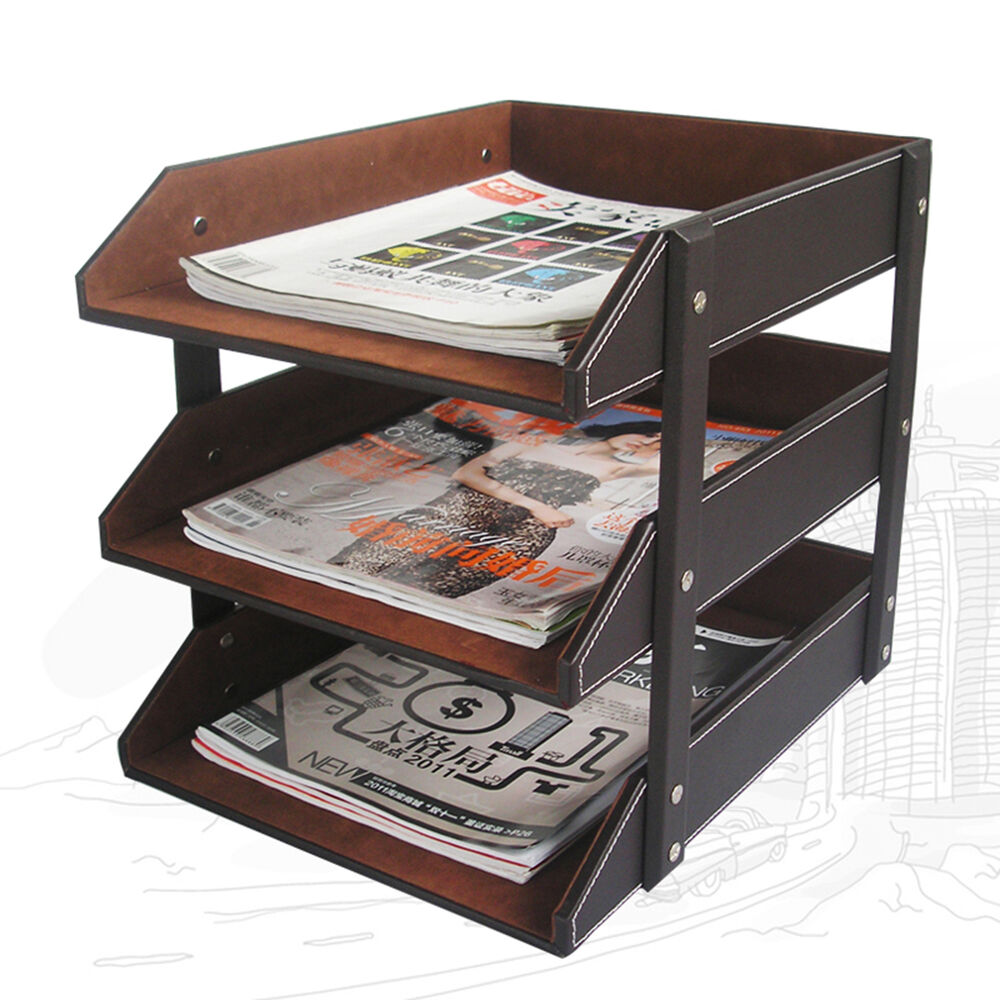 New Assemble Office File Document Tray Desk File Document