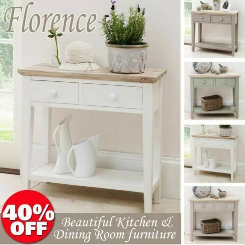 Kitchen Table Drawers: Florence Console Table. Stunning Kitchen Hall Table, 2