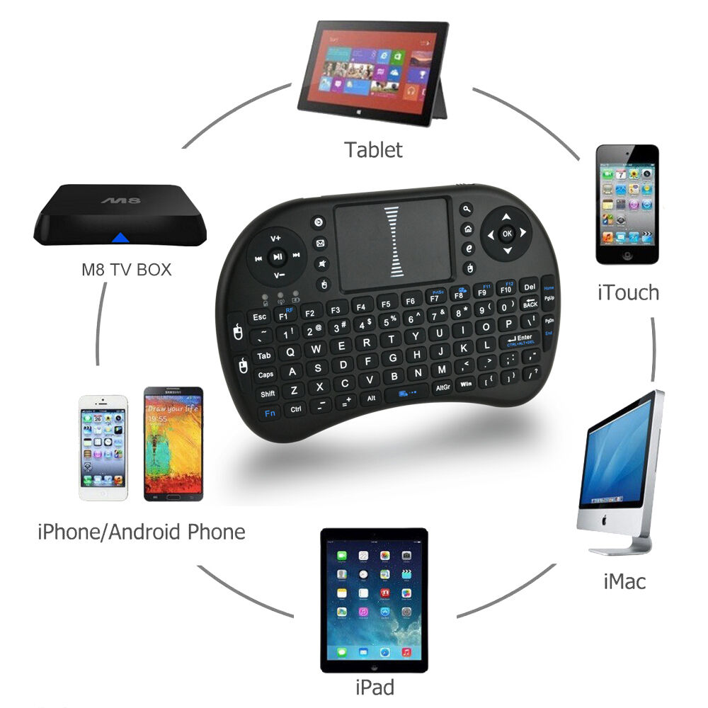 how to connect wireless keyboard to android tv box
