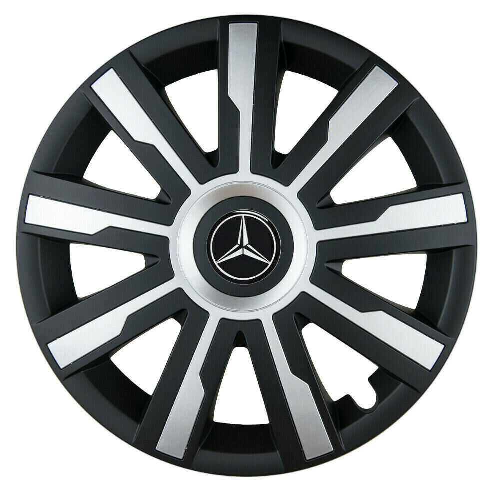 16 wheel trims for mercedes vito sprinter viano 4 for Mercedes benz sprinter wheel covers