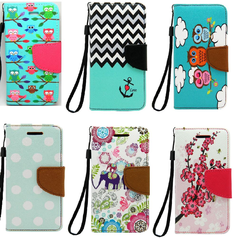 for apple ipod touch 5 6 6th gen pu leather wallet skin cover case w card holder ebay. Black Bedroom Furniture Sets. Home Design Ideas