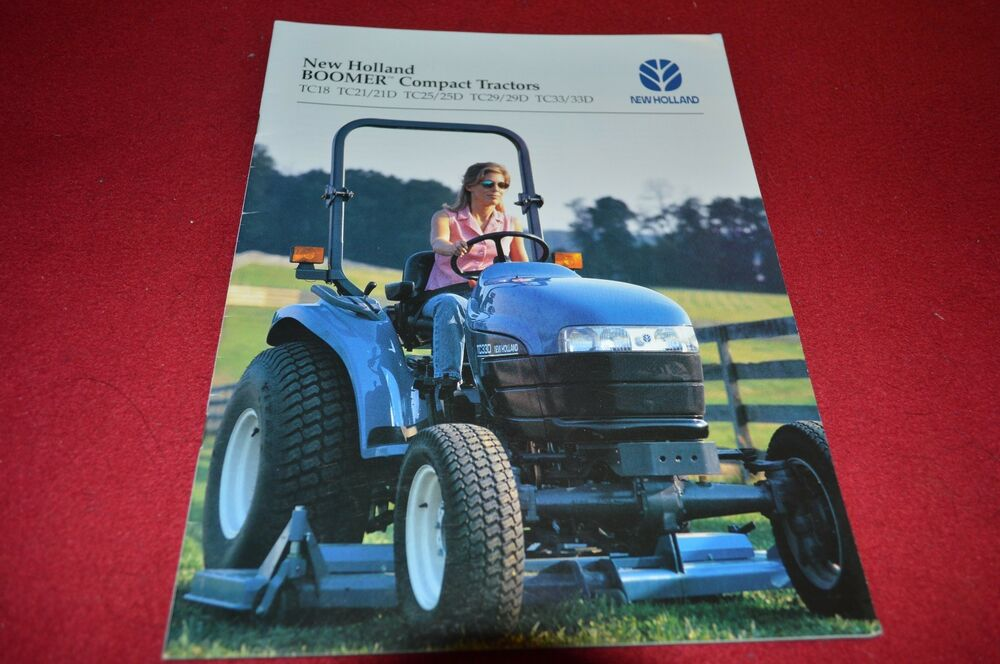 New Holland Tractor People : New holland tc boomer tractor