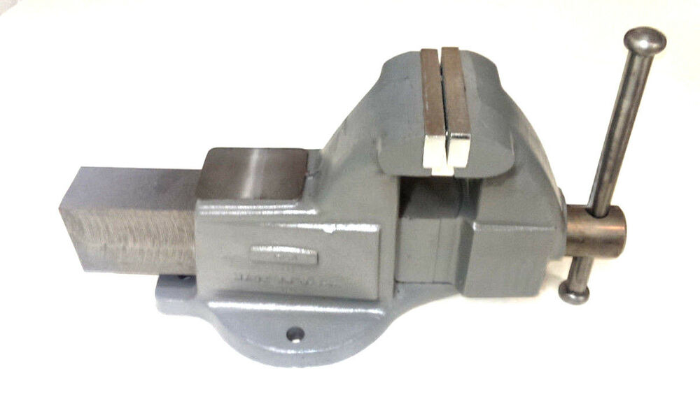 Wilton 10103 4 Machinists 39 Bench Vise With Stationary Base Made In The Usa Ebay