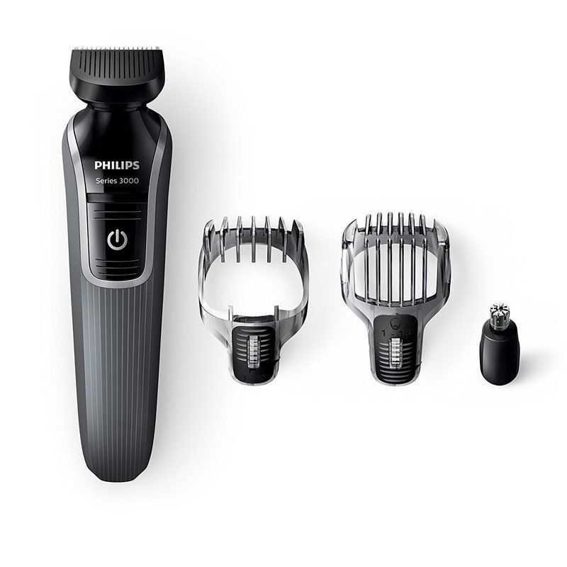 philips qg3332 23 series 3000 4 in 1 mens beard stubble trimmer grooming kit new ebay. Black Bedroom Furniture Sets. Home Design Ideas