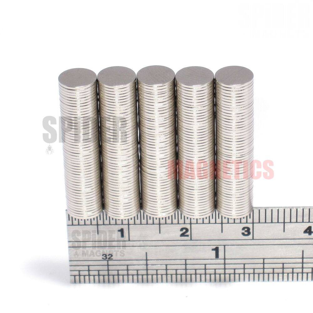 Magnets 6x0 5 mm neodymium disc small thin round craft for Thin magnets for crafts