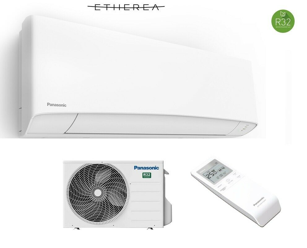 panasonic etherea 3 5kw wei klimaanlage inverter w rmepumpe klimager t set neu ebay. Black Bedroom Furniture Sets. Home Design Ideas