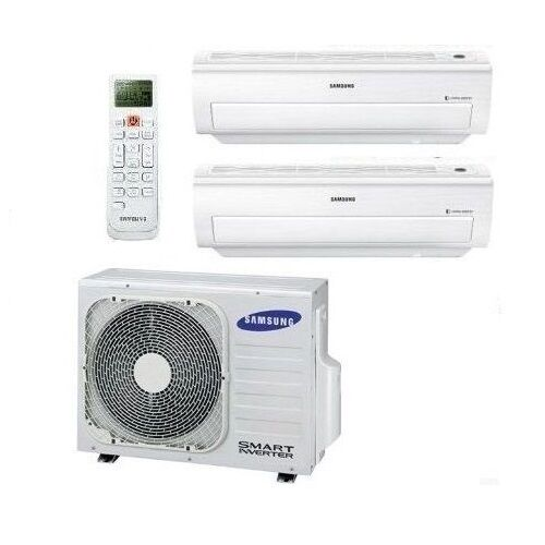 samsung klimaanlage multi split 2 r um classic inverter klimager te multisplit ebay. Black Bedroom Furniture Sets. Home Design Ideas