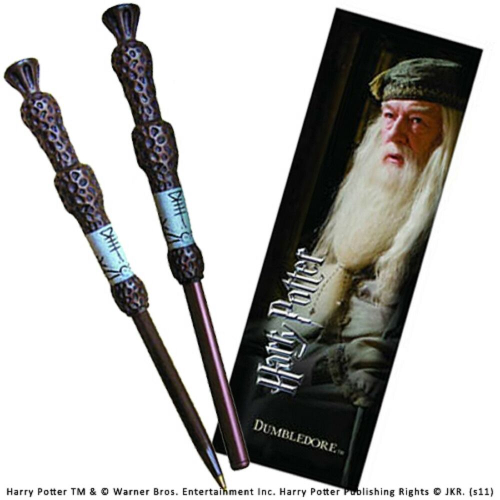 Harry potter dumbledore elder wand pen and bookmark gift for Elder wand spells