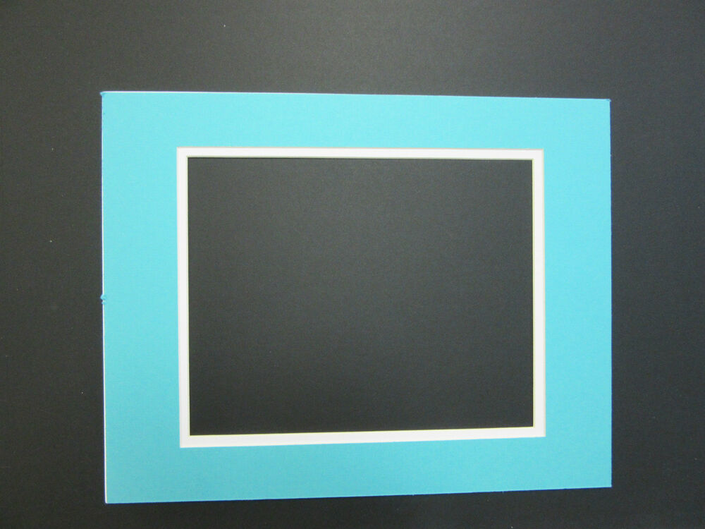 Picture Framing Mats 16x20 Mat For 11x14 Photo Turquoise