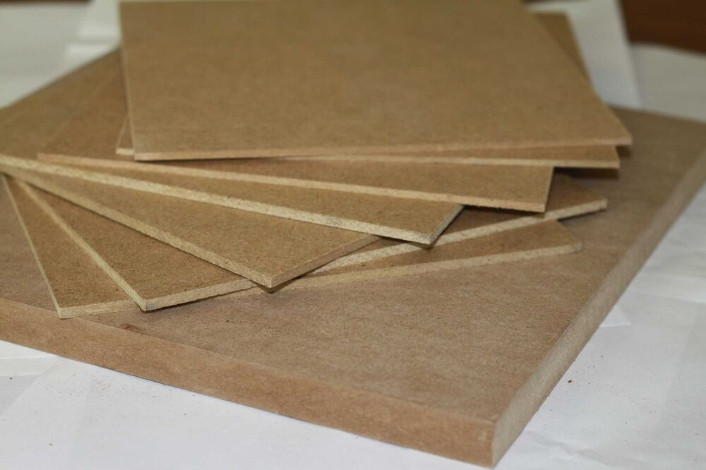 Mdf Artist Painting Board 6mm 4 Pack Ready To Prime In A