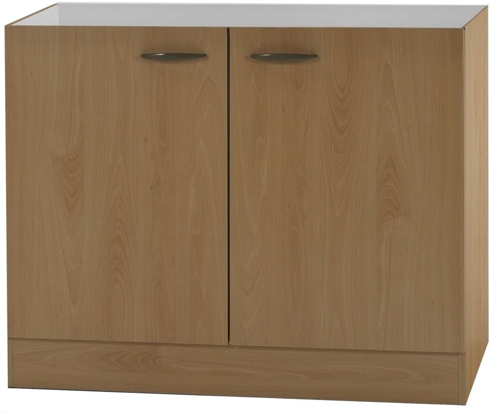 klassik60 sp lenschrank 100cm breit buche splo106 ebay. Black Bedroom Furniture Sets. Home Design Ideas
