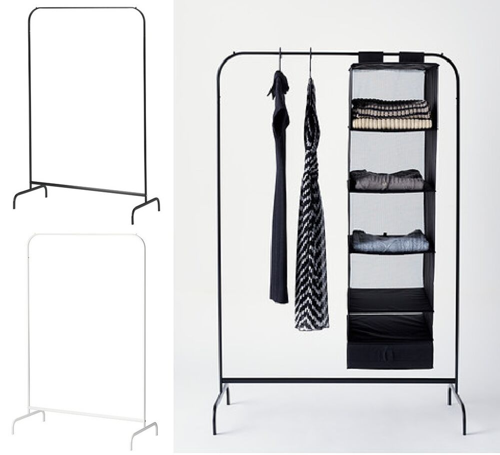 Ikea mulig clothes rail dress rail coat stand shop garment for Ikea coat rack stand
