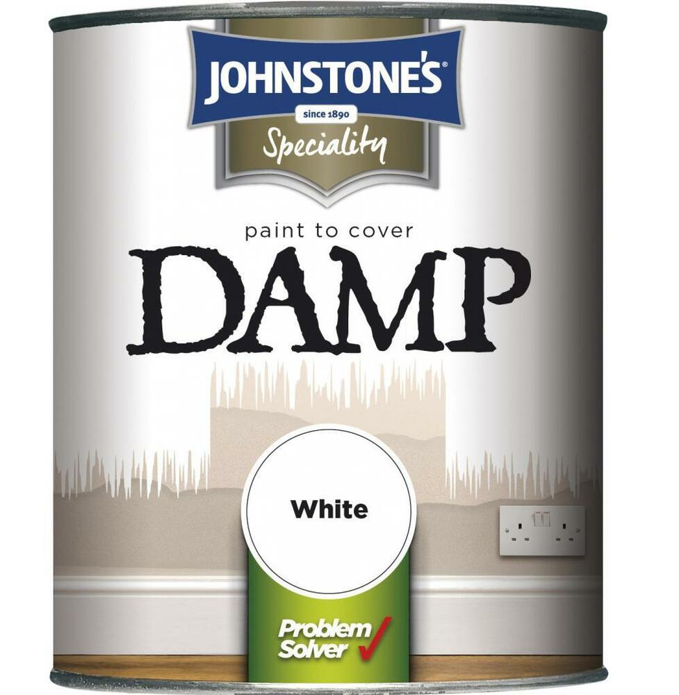 damp proof paint anti damp white matt finish 750ml specialist walls. Black Bedroom Furniture Sets. Home Design Ideas