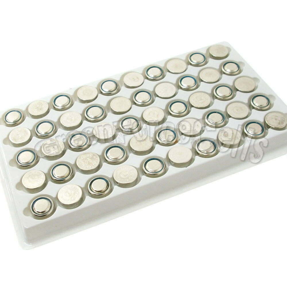 50 x AG13 G13 LR44 LR1154 GP76 GPA76 GS14 L1154 S06 Alkaline Button Cell Battery | eBay
