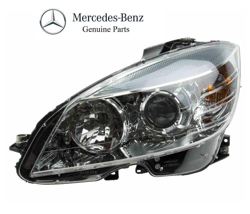 Service manual remove assembly headlight 2010 mercedes for Mercedes benz headlight bulb