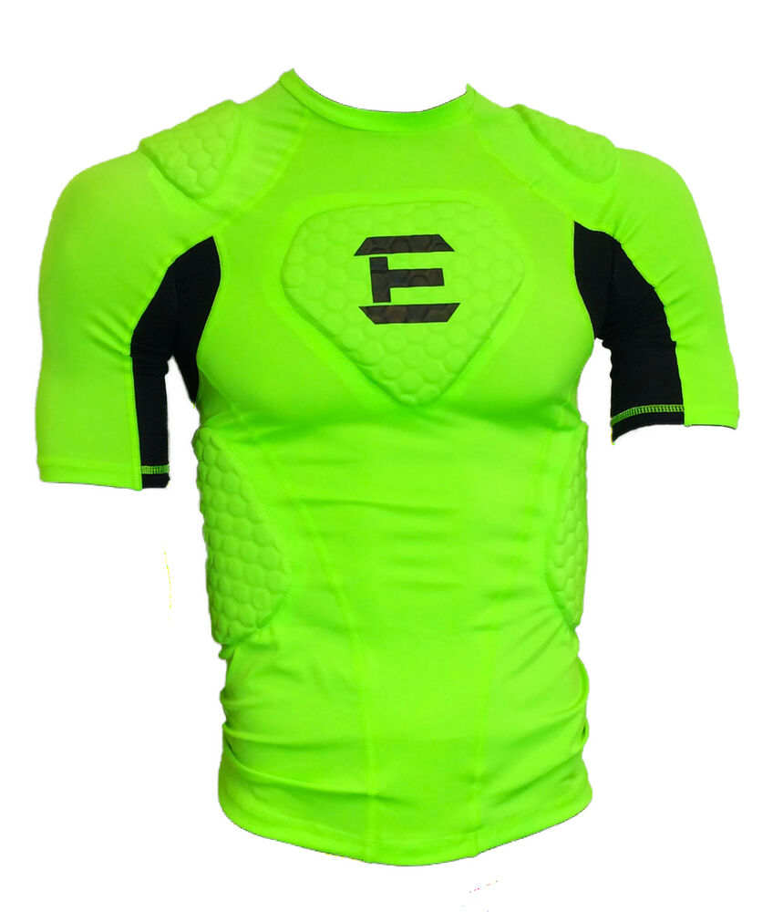 EliteTek Padded Compression Shirt - CPS14 - Youth and ...