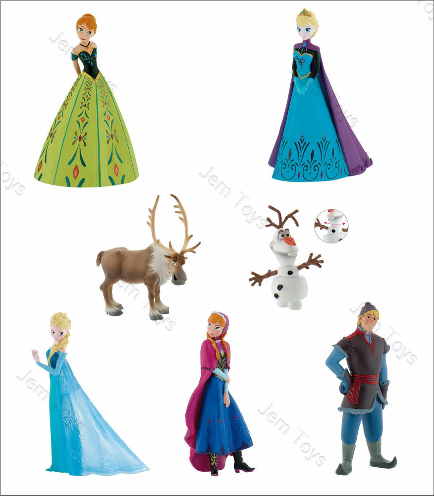 Frozen Character Cake Toppers