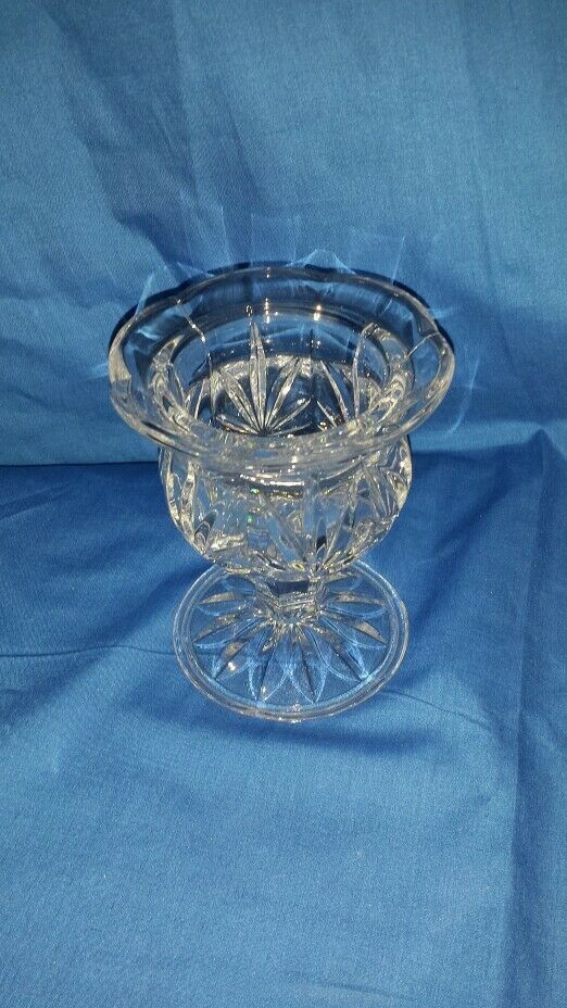 Princess House Lead Crystal Candle Holder 859 Ebay