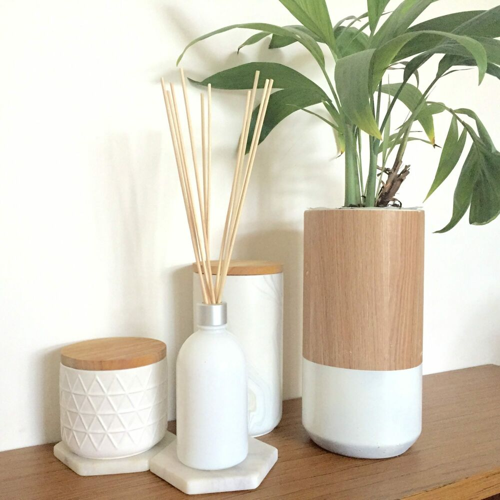 Premium diffuser rattan reeds sticks white black natural 5 for Wicker reed