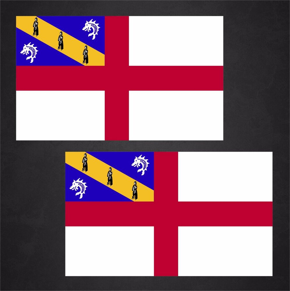 Details about 2 herm flag decals stickers