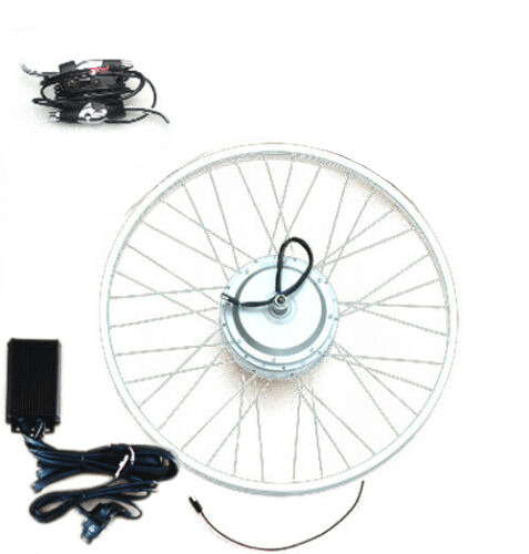 Ebike electric bike conversion kit front hub motor w 20 for Bicycles with electric motors