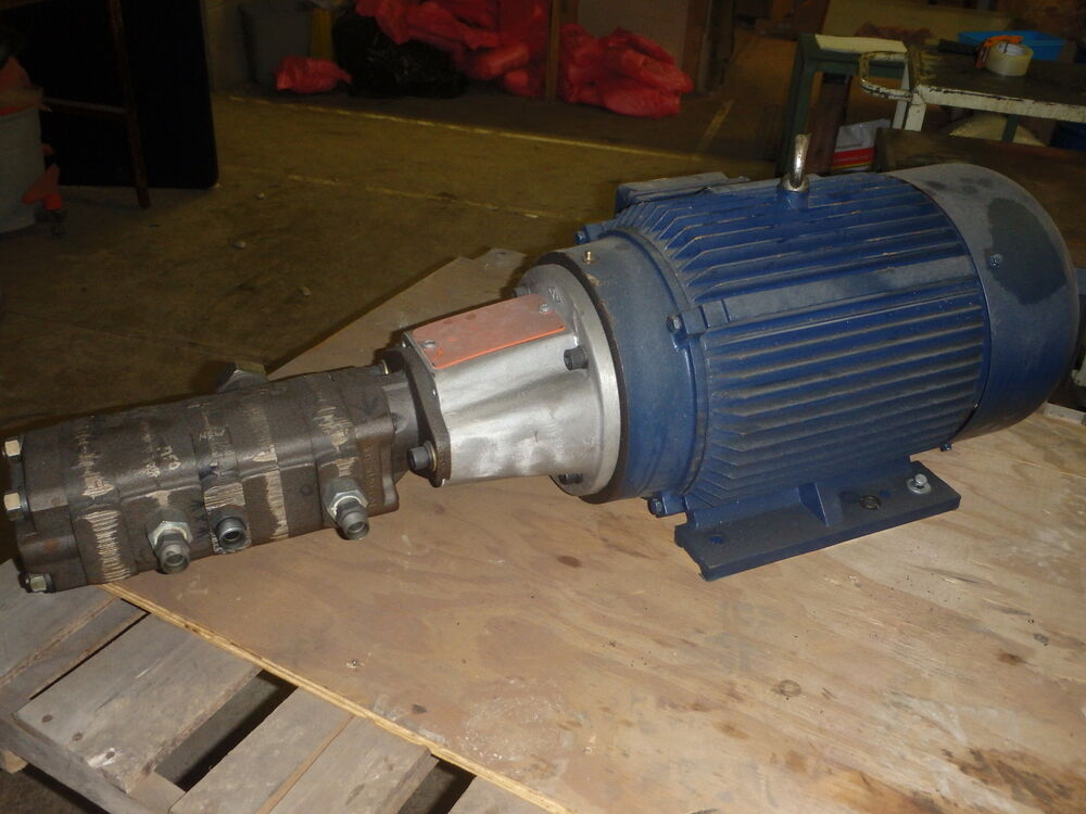 North American Electric Motor Na254t 15 4 Pump Assembly