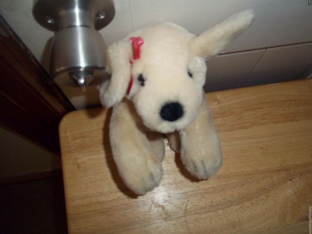 Victorias Secret Lily Plush Doll Figure Girl Puppy Dog Toy