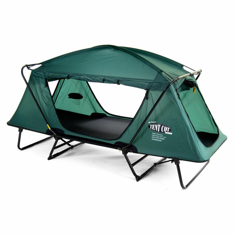 Kamprite Oversize Tent-cot w/ Rainfly Shelter Bug out Bag ...