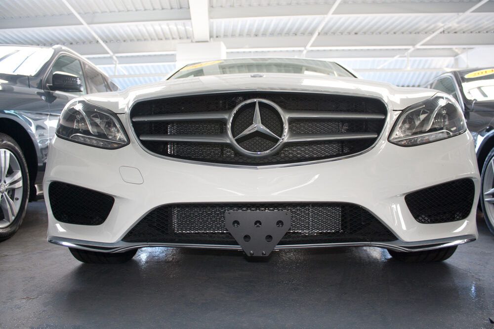 2014 mercedes e350 sedan sport front license plate bracket