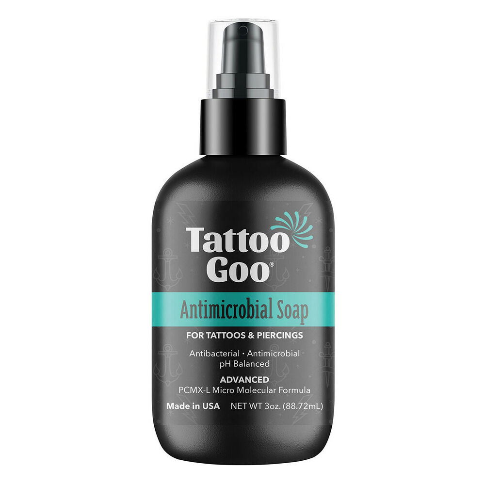 Tattoo goo deep cleansing soap piercing aftercare ebay for Tattoo goo where to buy