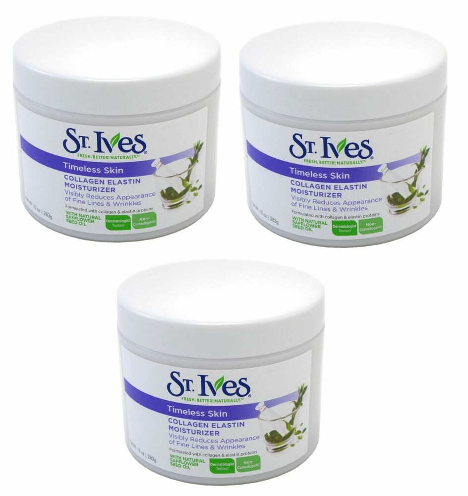 St. ives collagen elastin facial moisturizer