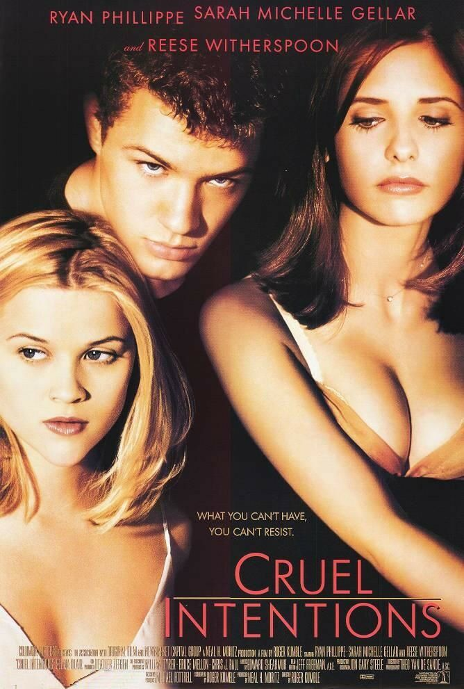 CRUEL INTENTIONS MOVIE POSTER 2 Sided ORIGINAL INTL ROLLED ...