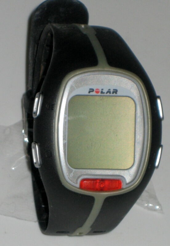 Polar Heart Rate Monitor Battery : Polar rs heart rate monitor watch black in box w