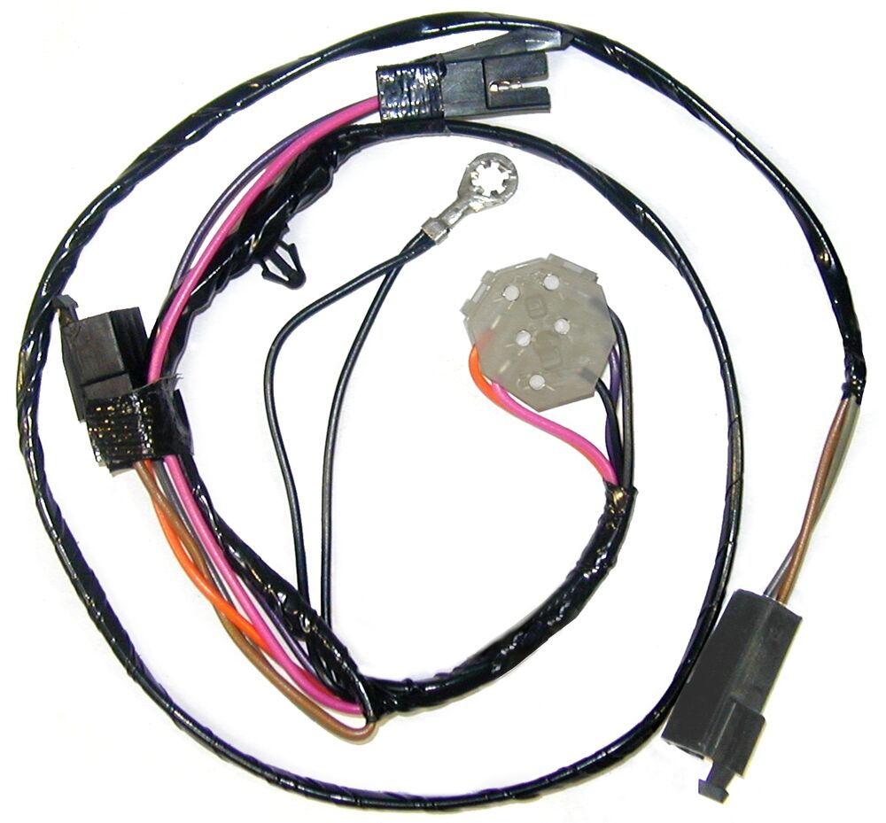 1978 Corvette Power Door Lock Wiring Harness  Under Dash