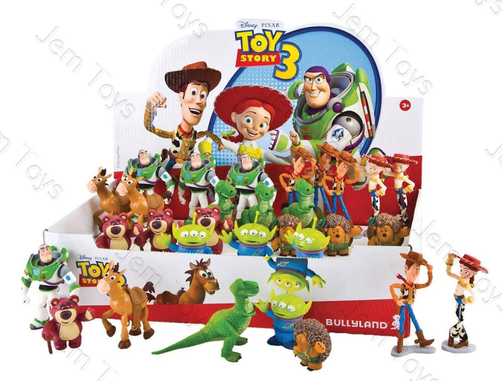Toy Story Figures : Official disney toy story figures figurine cake