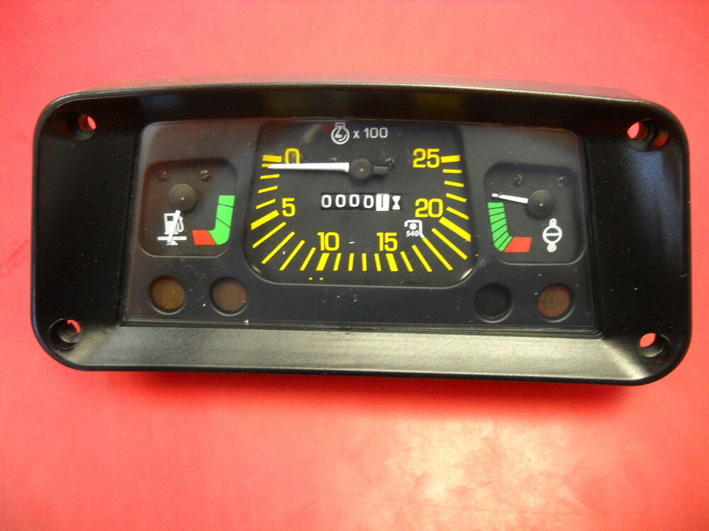 3000 Ford Tractor Instrument Cluster : New ford tractor instrument gauge cluster