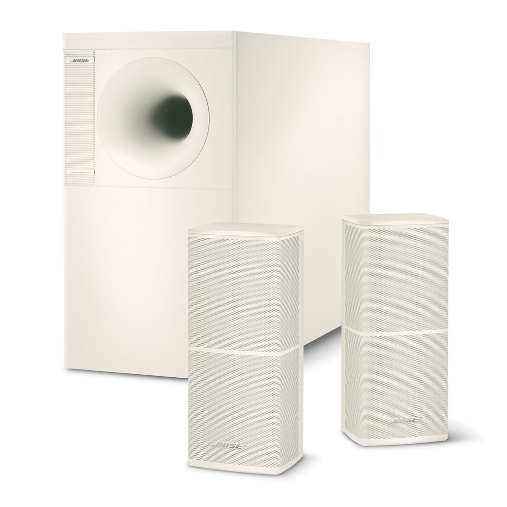 bose acoustimass 5 series v system white ebay. Black Bedroom Furniture Sets. Home Design Ideas