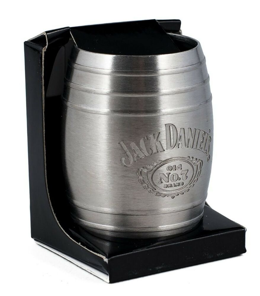 Licensed Jack Daniel's Whiskey Medium Barrel Shot Glass ...