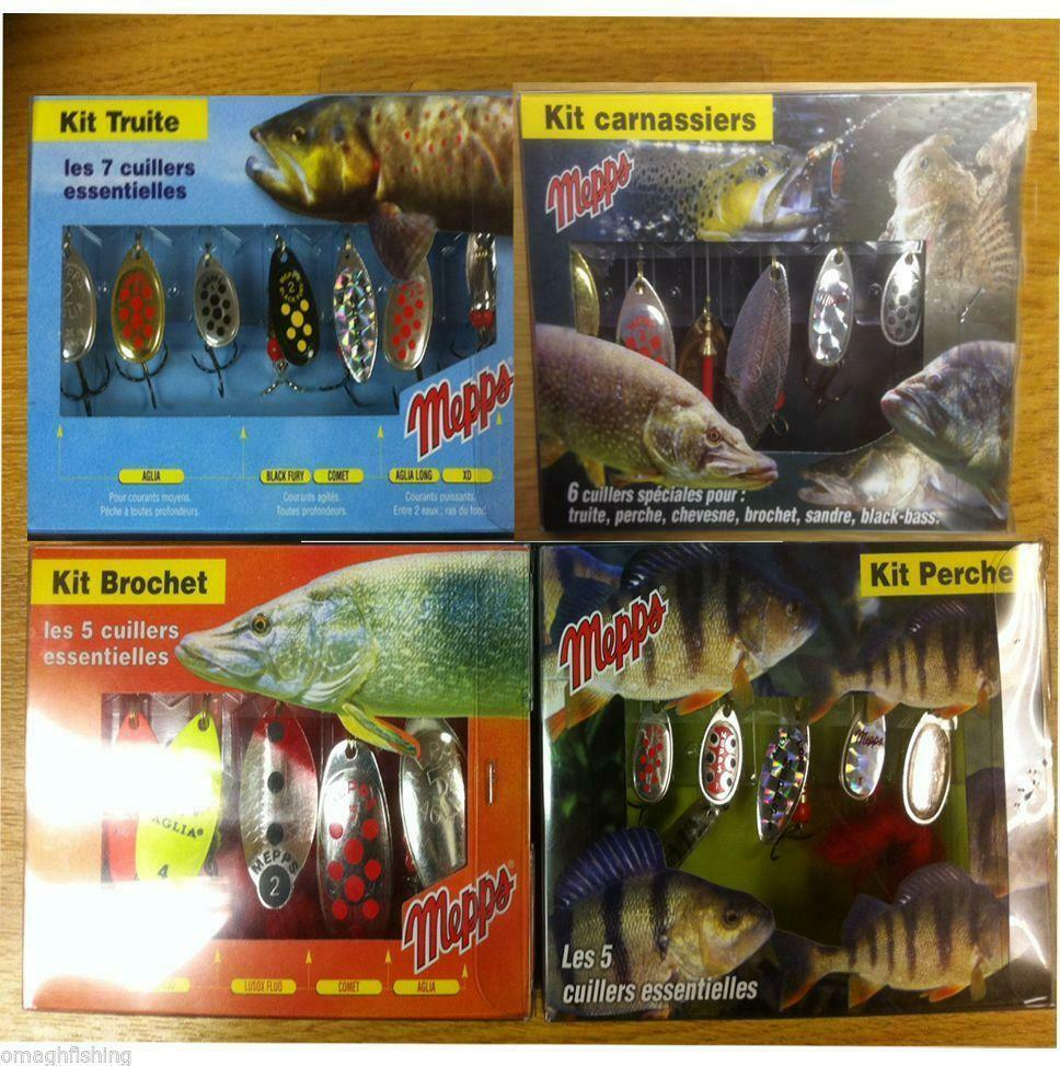 Mepps Lure Kits/Selections*Trout,Pike,Perch,Predator ...