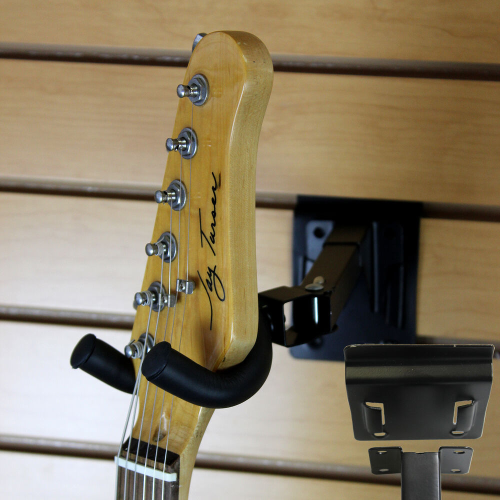 usa adjustable guitar wall mount display hanger holder hook stand rack fast ship ebay. Black Bedroom Furniture Sets. Home Design Ideas