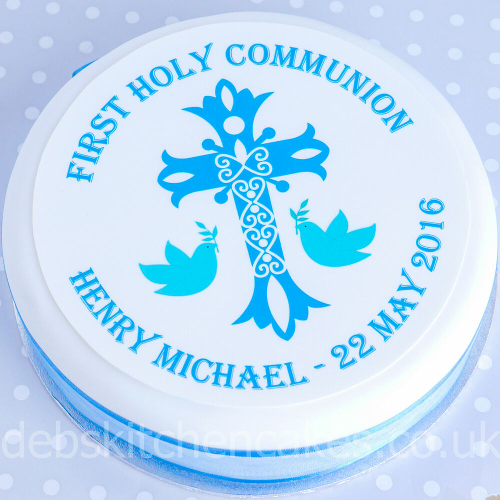 First Holy Communion Cake Toppers Uk