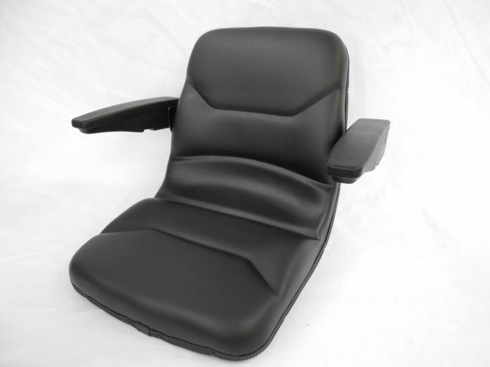 High Back Black Seat For Walker Zero Turn Mowers With Flip
